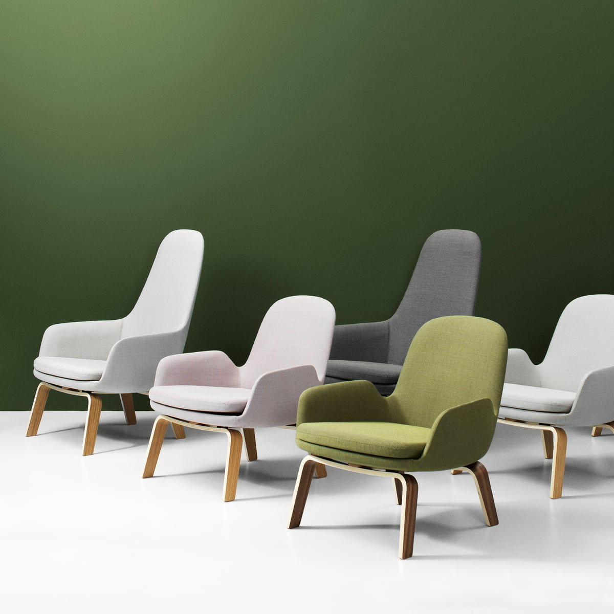 normann copenhagen  era lounge chairs. the era lounge chair from normann copenhagen