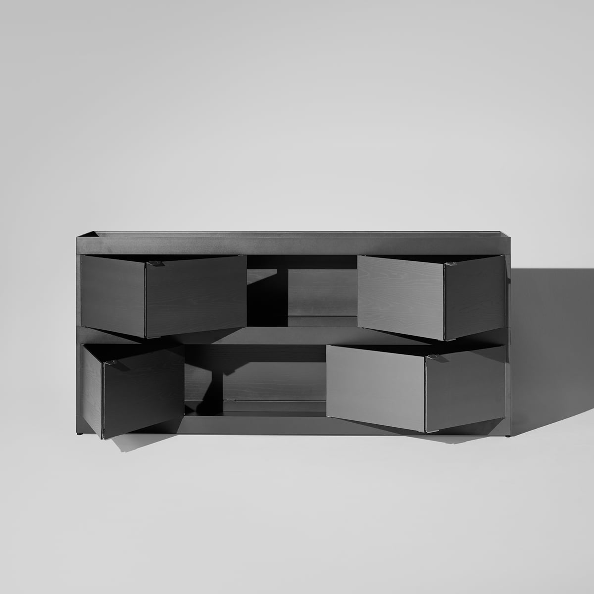 hay new order sideboard with doors connox. Black Bedroom Furniture Sets. Home Design Ideas