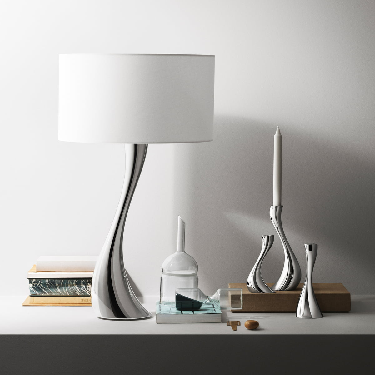 Georg Jensen S London Boutique By Studio David Thulstrup: The Cobra Table Lamp By Georg Jensen In The Shop