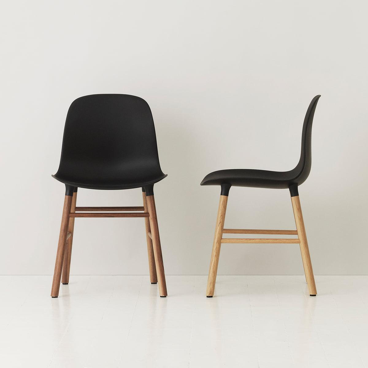 Normann Copenhagen   Form Chair, Black