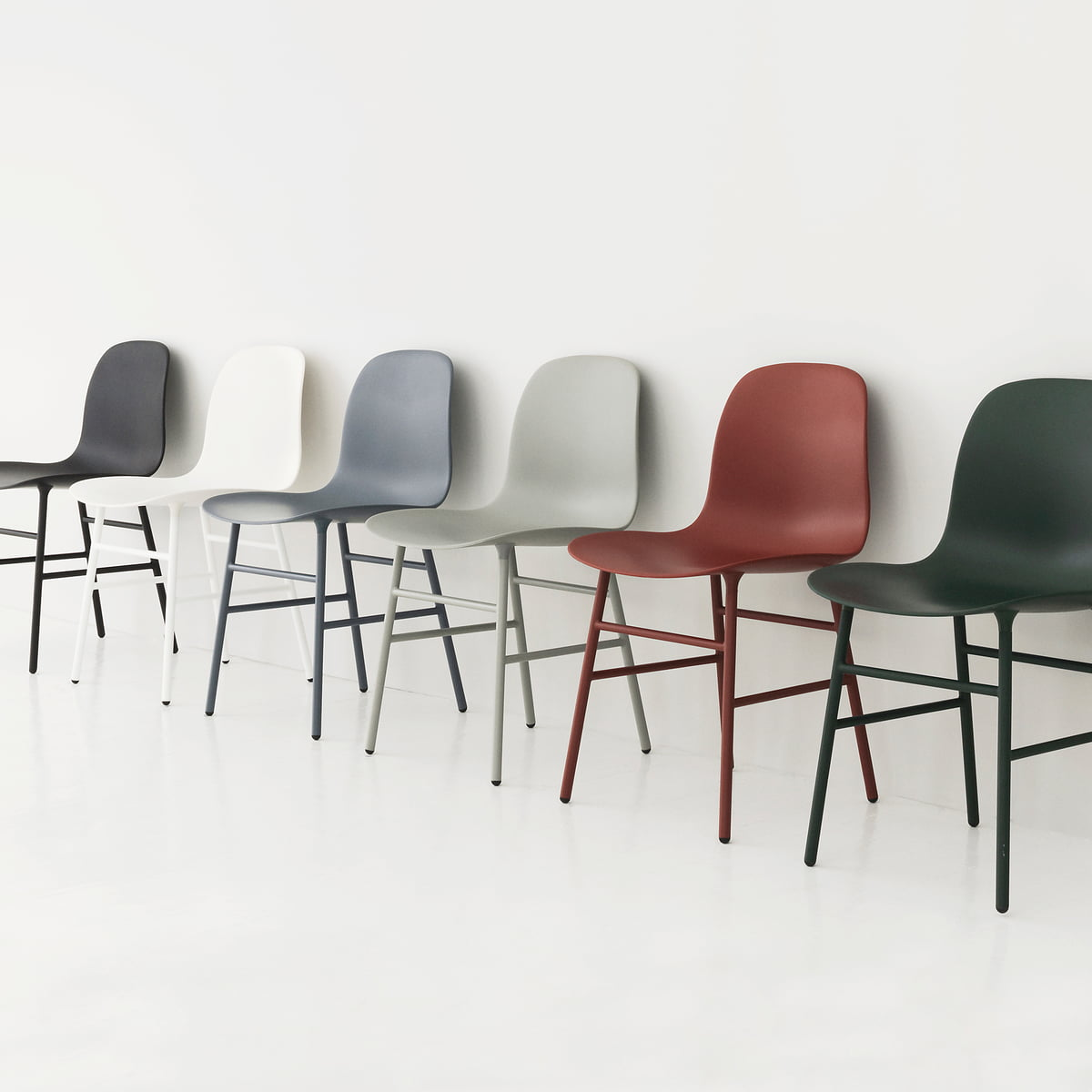 Form Chair Steel Legs By Normann Copenhagen