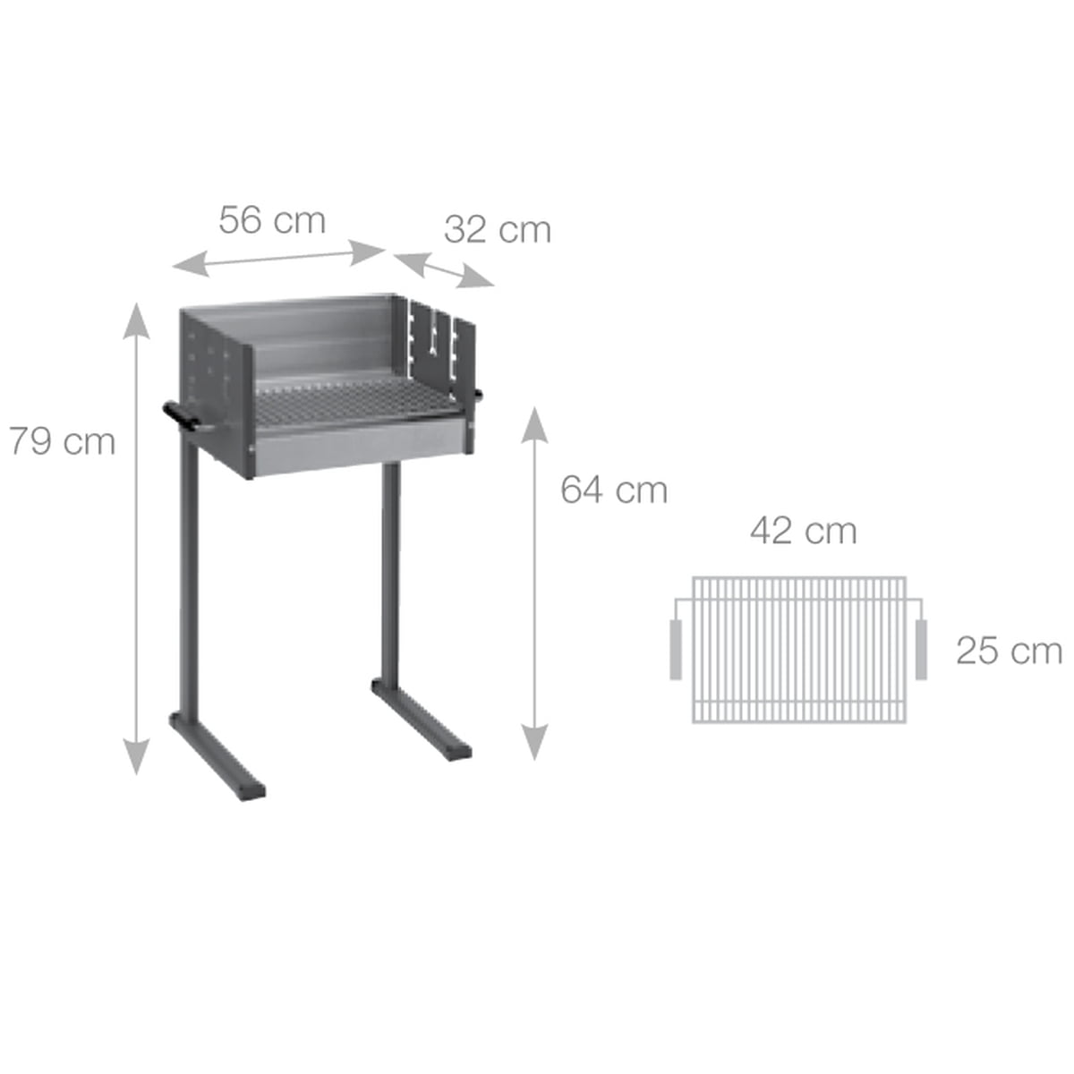 the 7000 box grill by dancook in the barbecue shop. Black Bedroom Furniture Sets. Home Design Ideas