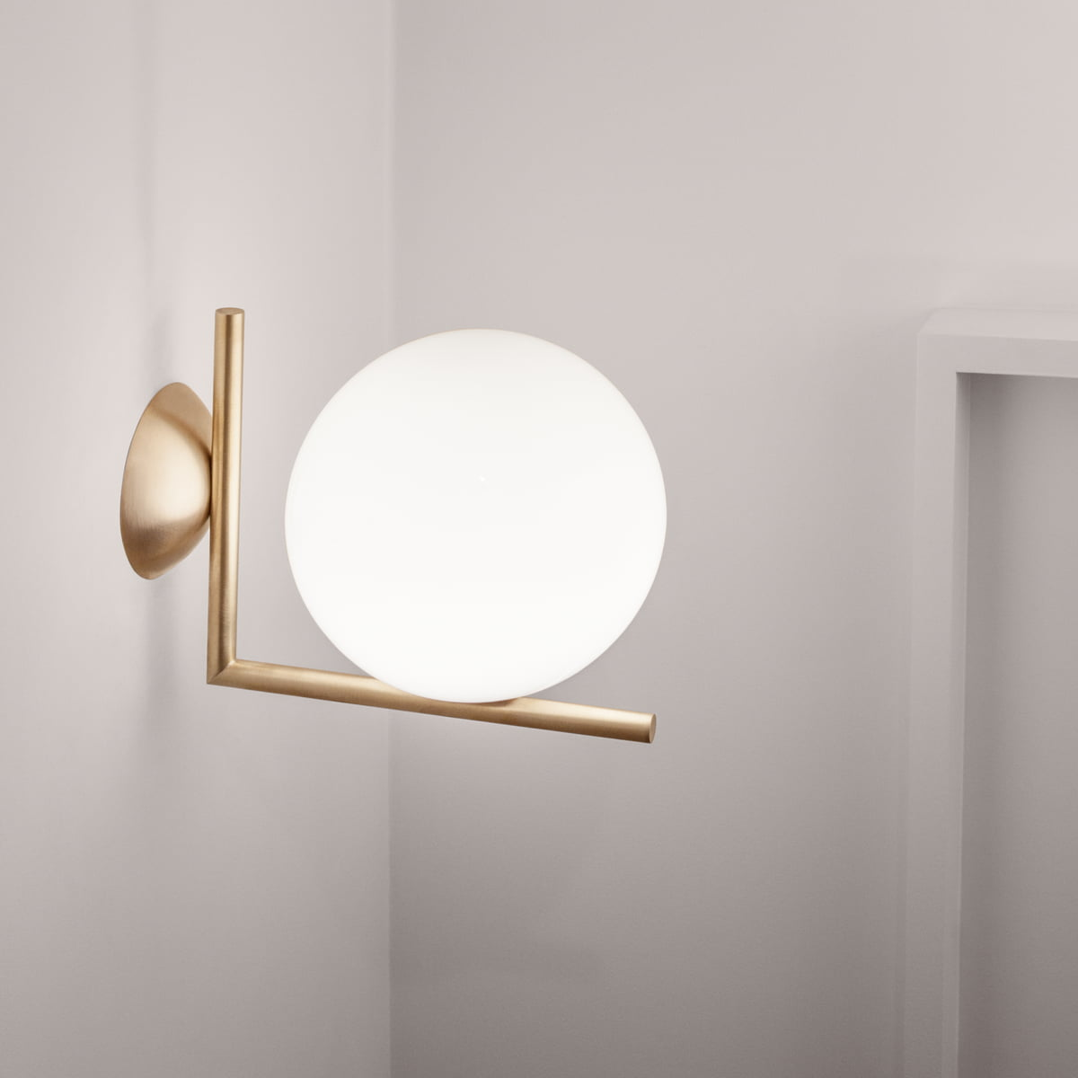 The Ic Wall And Ceiling Lamp By Flos