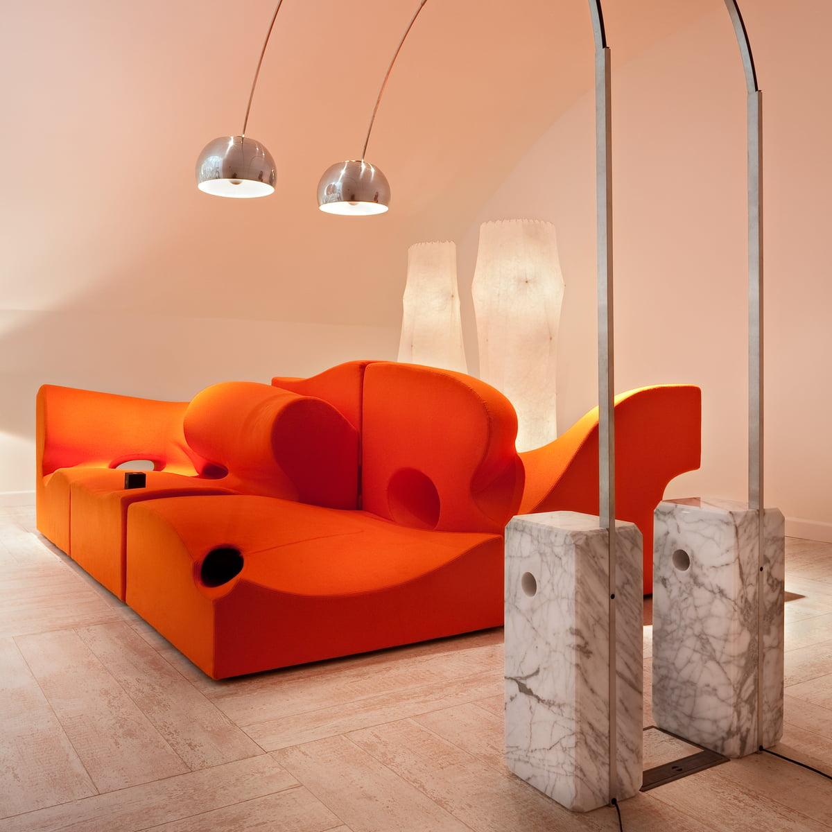 arco standard lamp for flos in the home design shop. Black Bedroom Furniture Sets. Home Design Ideas