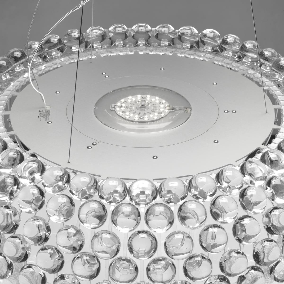 Lampe Caboche Patricia Urquiola foscarini - caboche pendant lamp transparent, piccola