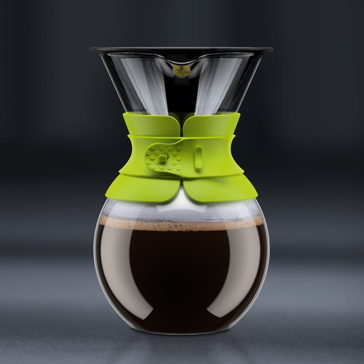 Bodum Pour Over Coffee Maker With Permanent Filter : Bodum - Pour Over Coffee Maker with permanent filter