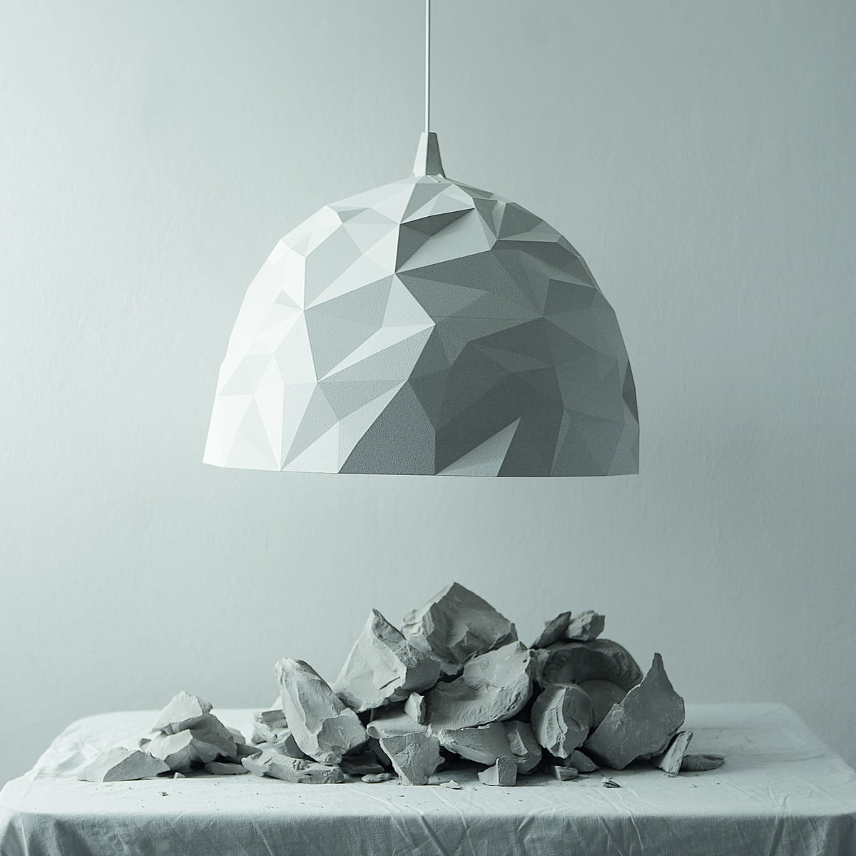 Rock pendant light by diesel living in the shop diesel living rock pendant light white aloadofball Images