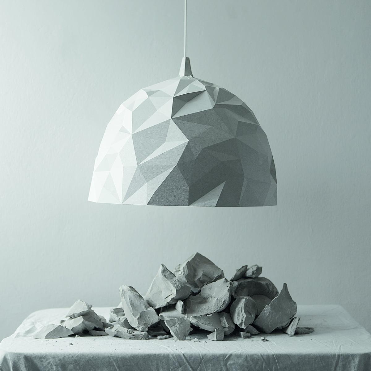 Rock pendant light by diesel living in the shop diesel living rock pendant light white aloadofball Gallery