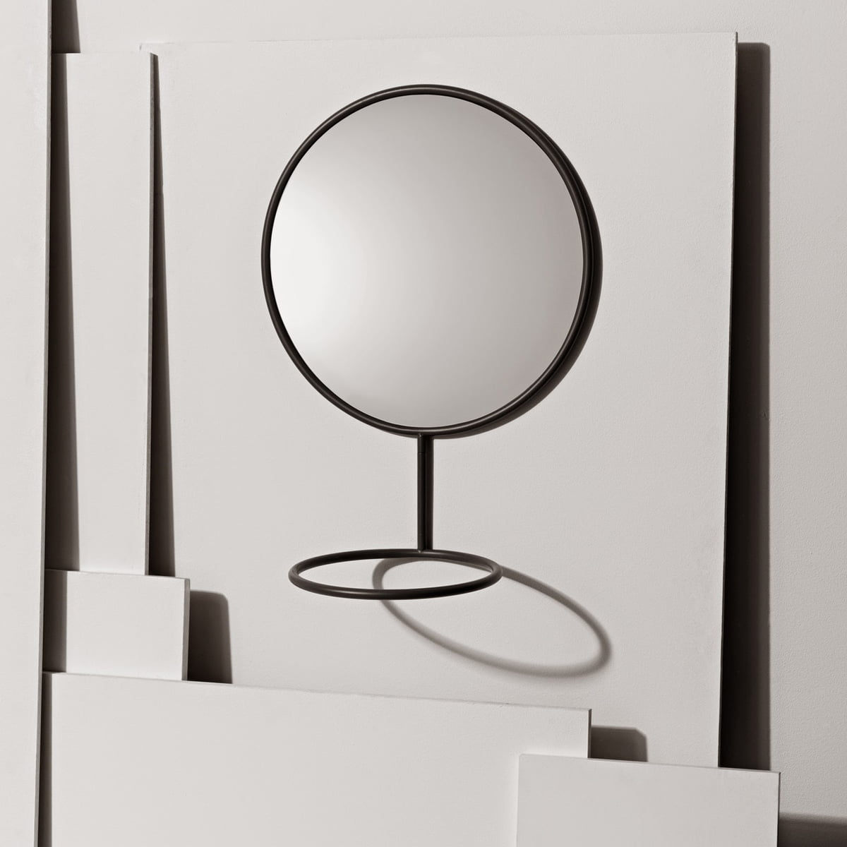 Nomess wall mirror in the home design shop for Mirror reflection