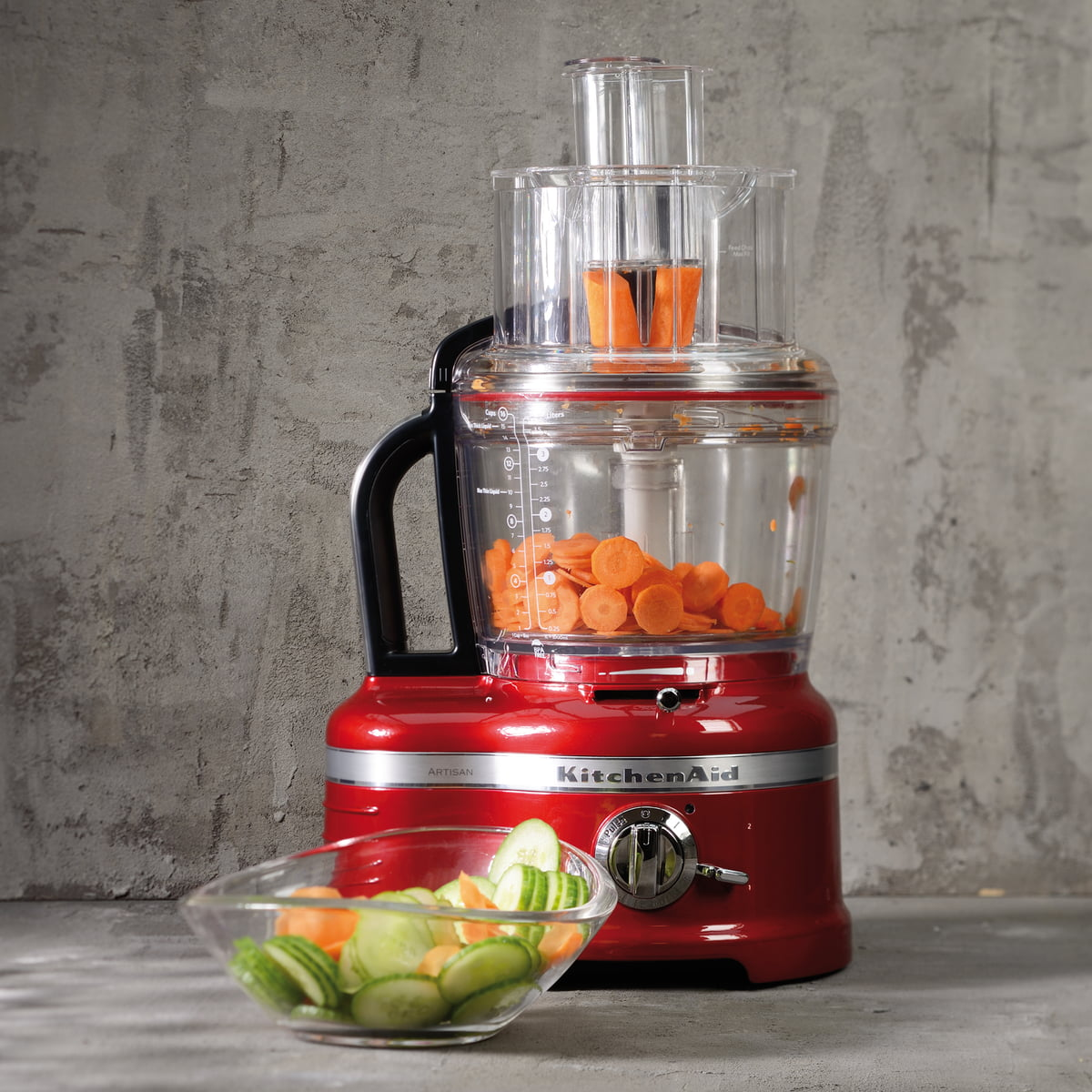 artisan food processor 4 0 l by kitchenaid. Black Bedroom Furniture Sets. Home Design Ideas