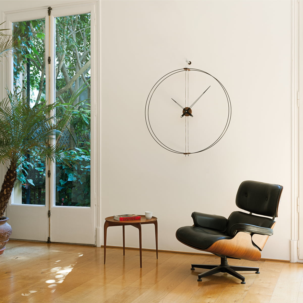 Barcelona wall clock by nomon in the shop