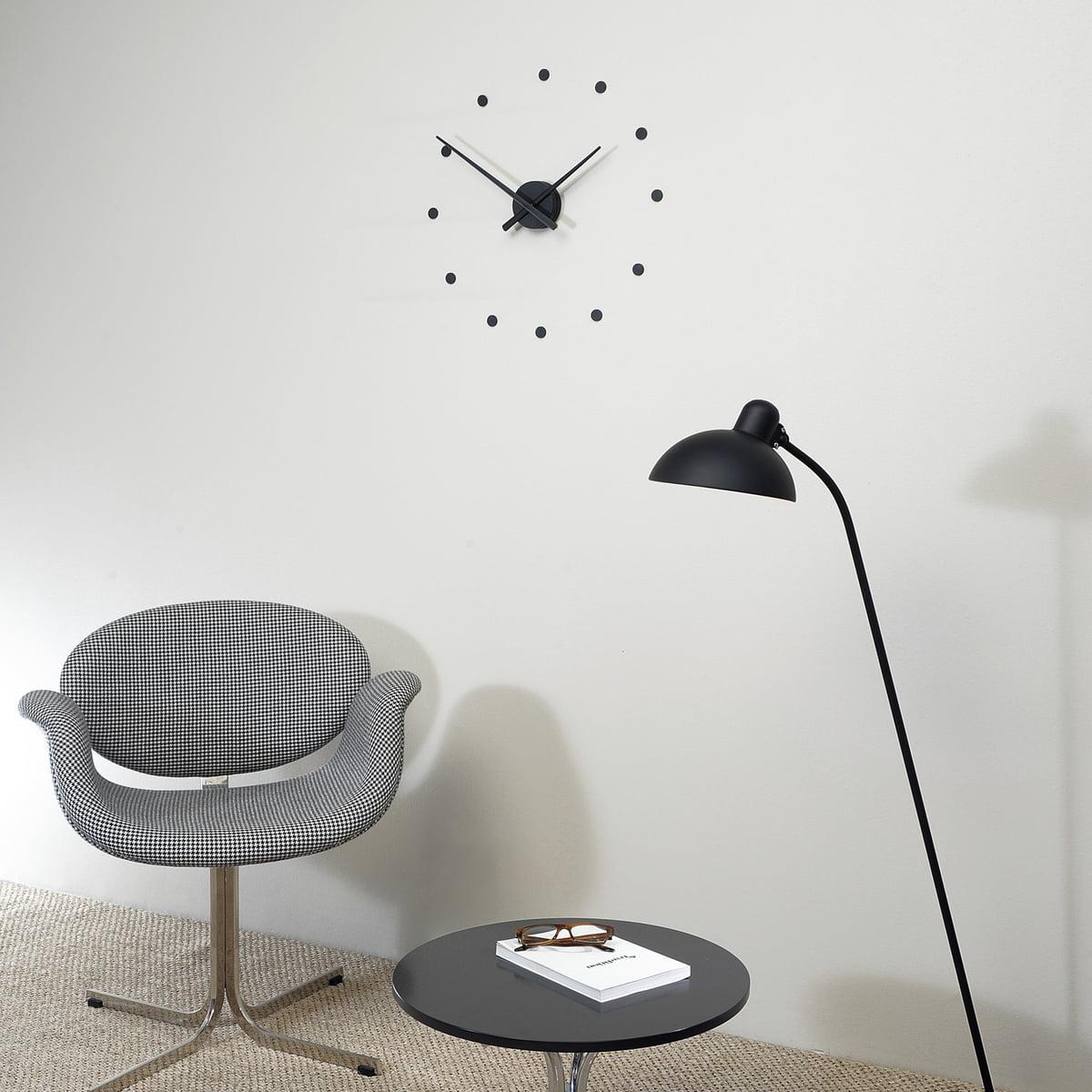 Oj mini wall clock by nomon in the shop oj mini wall clock by nomon in black amipublicfo Choice Image