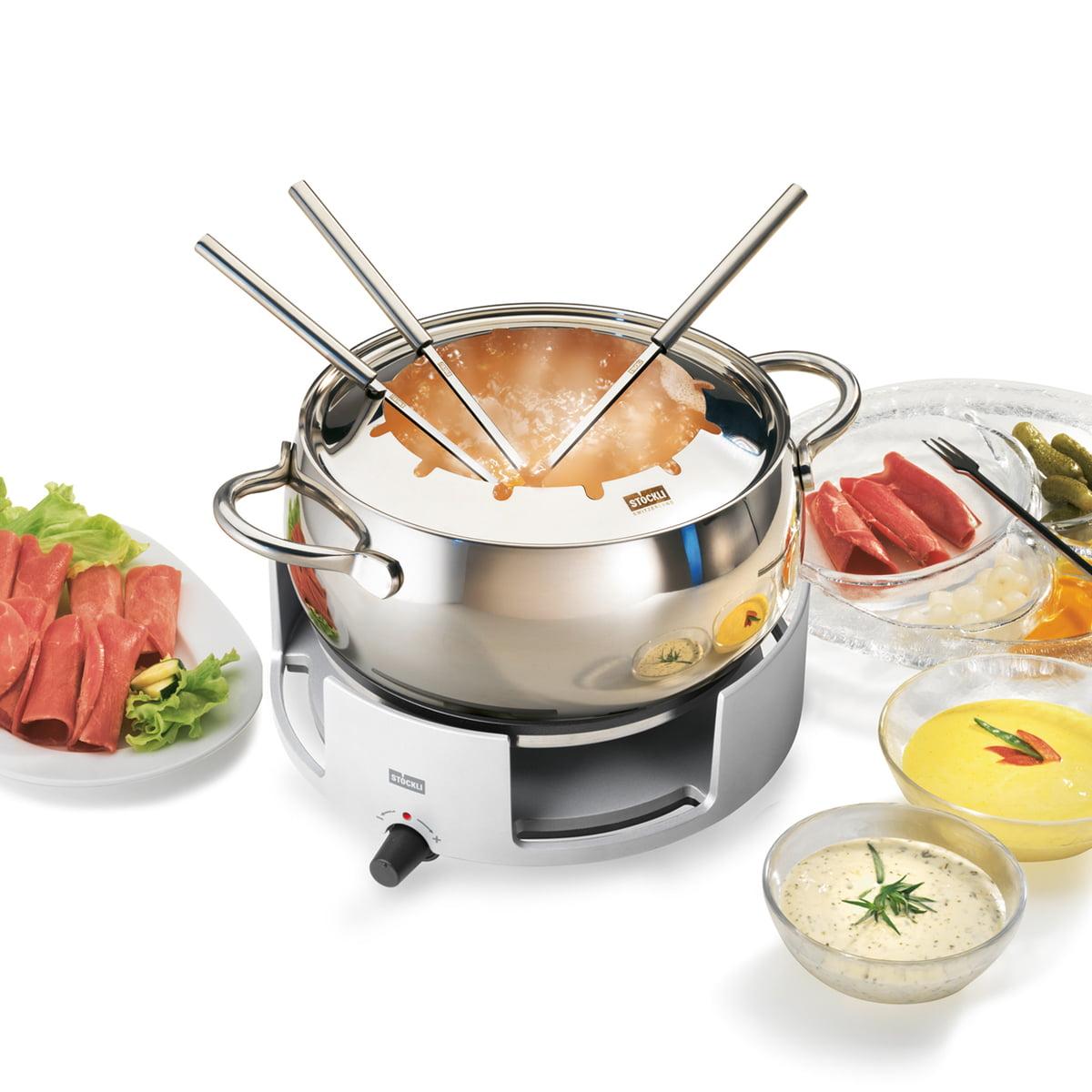 avalon fondue set by st ckli in our shop. Black Bedroom Furniture Sets. Home Design Ideas