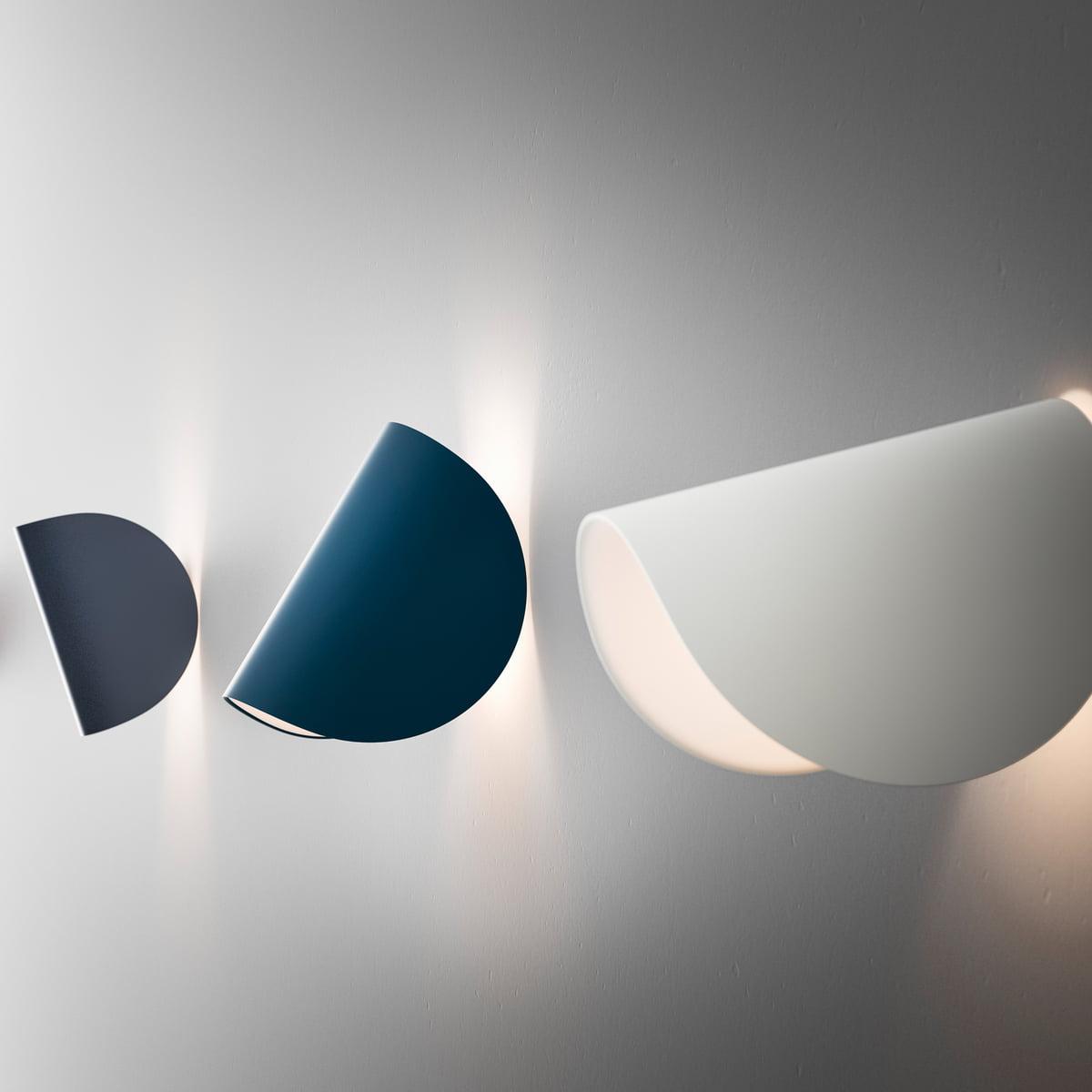 Fontanaarte io wall lamp led white