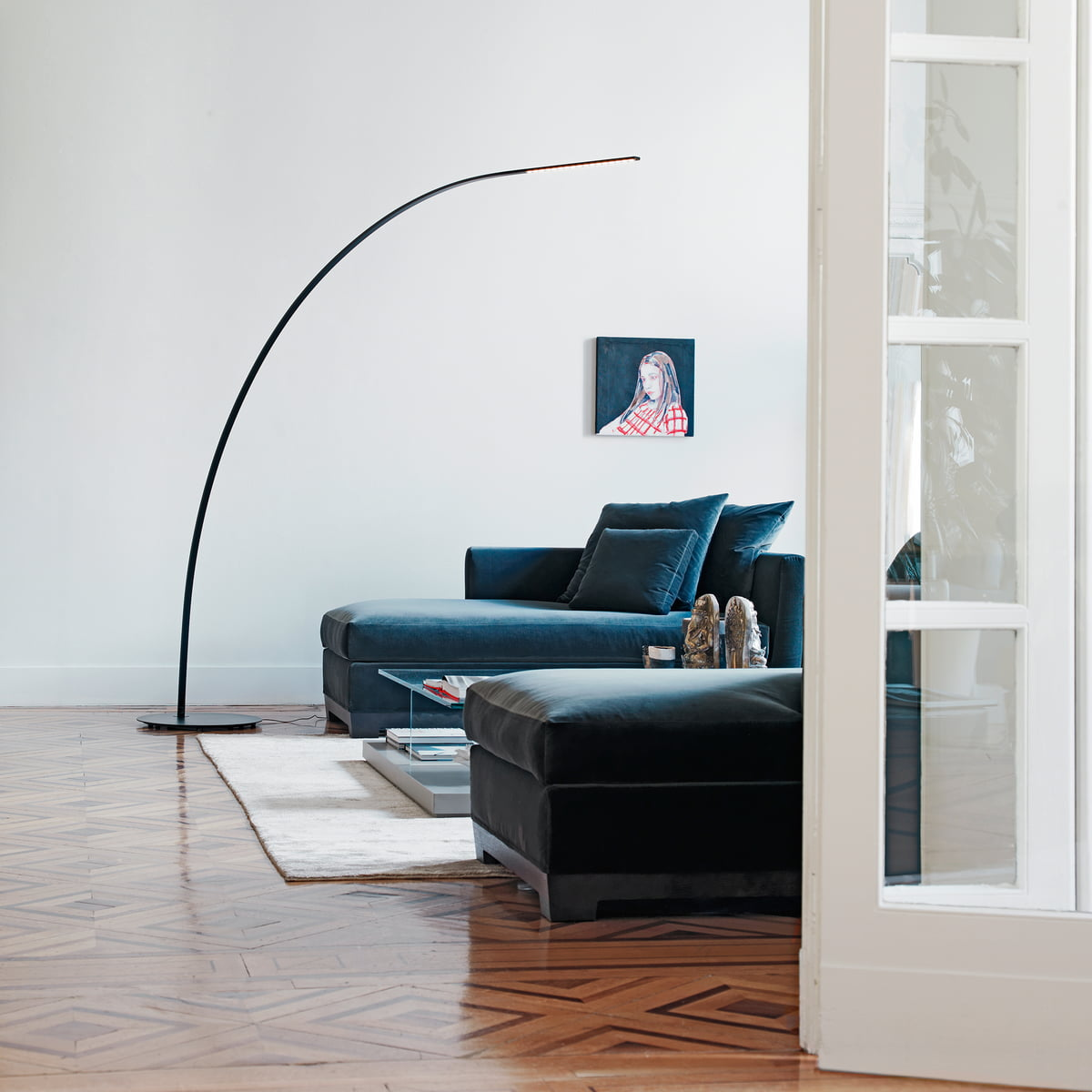 Yumi floor lamp by fontanaarte