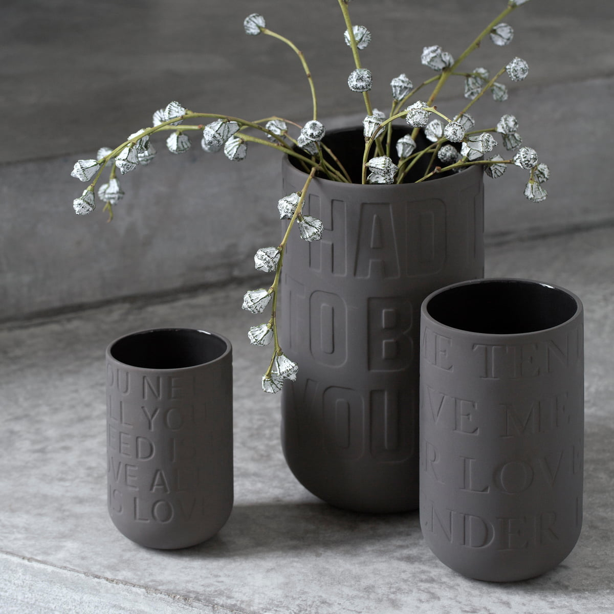 love song vase by k hler in the shop. Black Bedroom Furniture Sets. Home Design Ideas