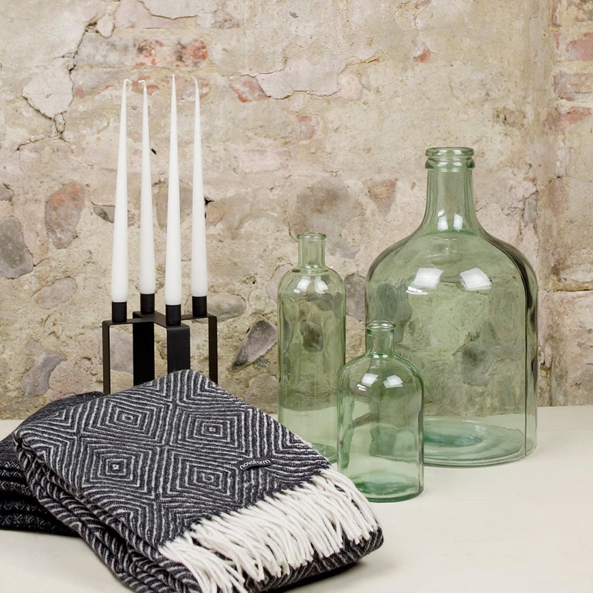 retro glass vase m by novoform. Black Bedroom Furniture Sets. Home Design Ideas