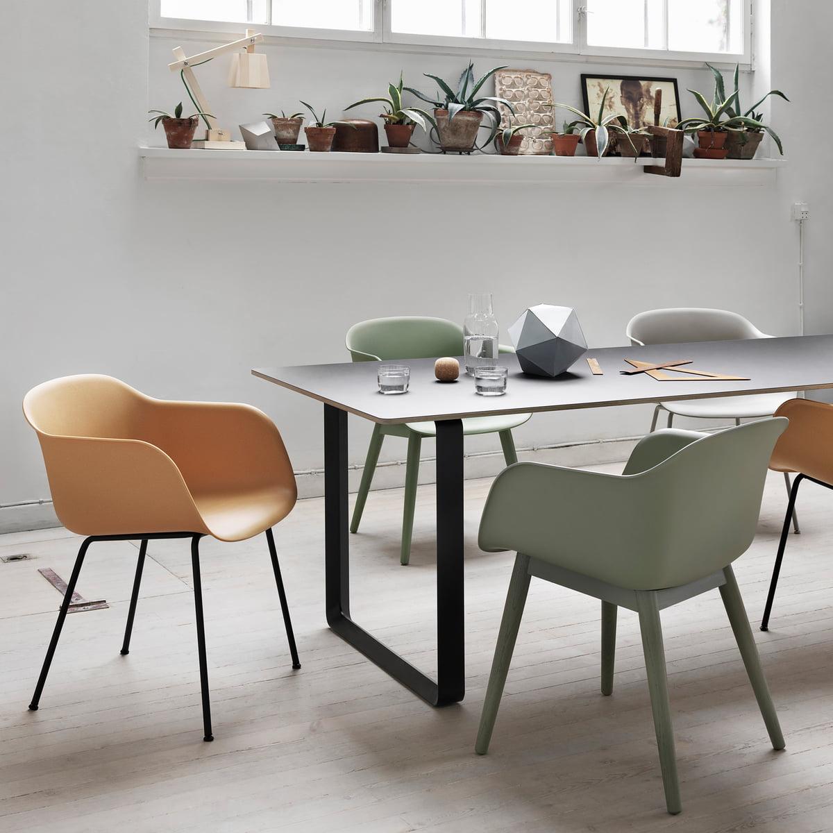 Muuto Fiber Chair Group Fiber Chair