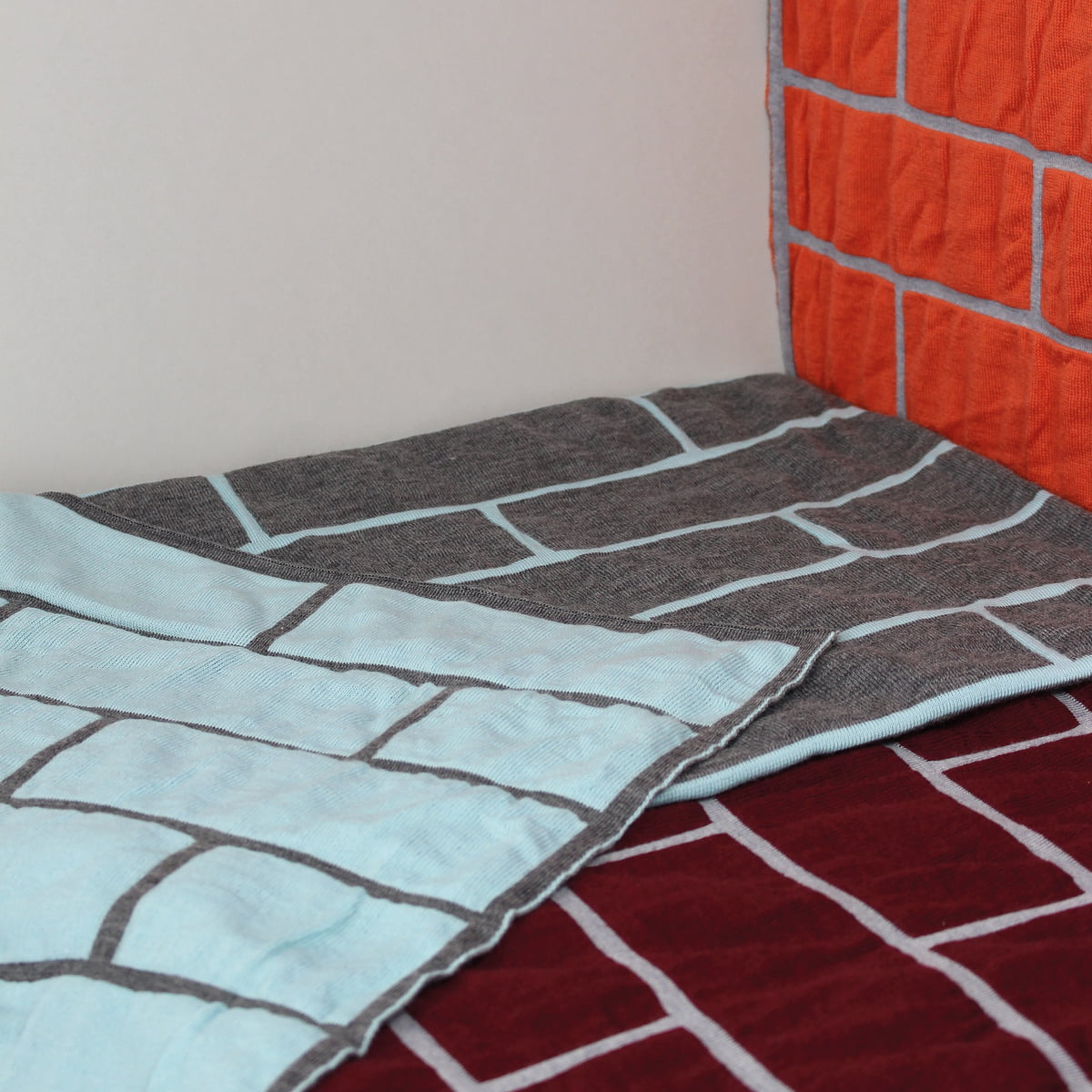 Brick blanket by Pulpo at the design shop