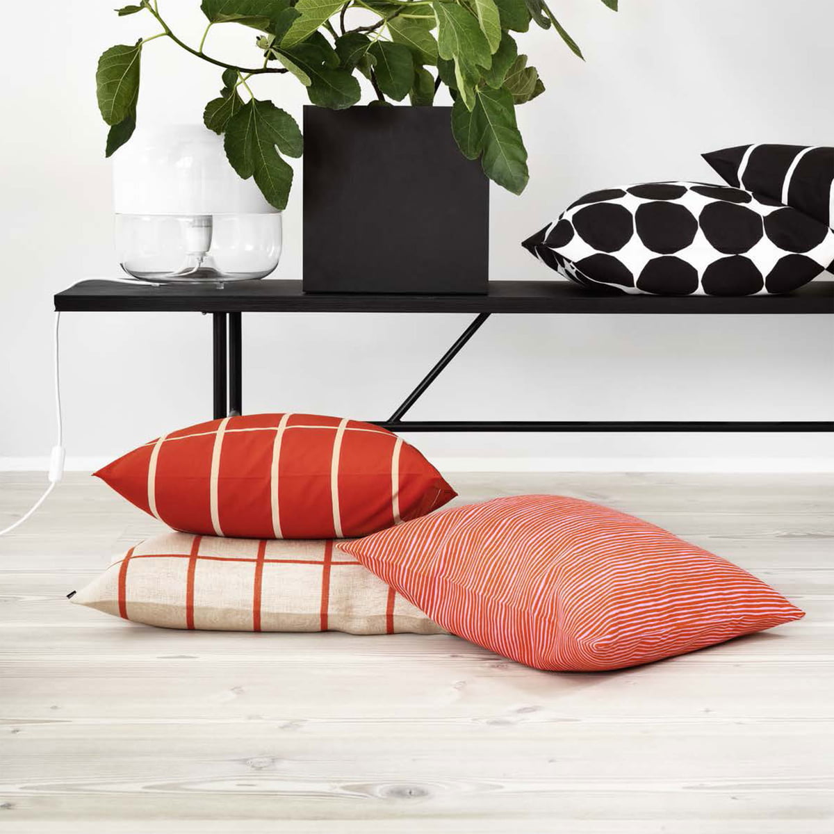 Pienet Kivet cushion cover by Marimekko