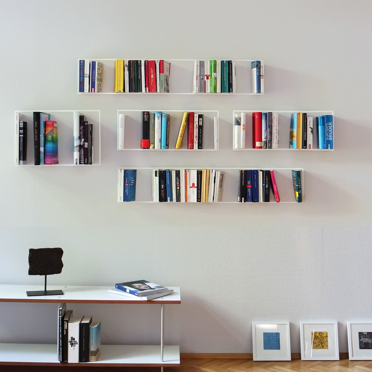 book frame by vonbox at the shop. Black Bedroom Furniture Sets. Home Design Ideas