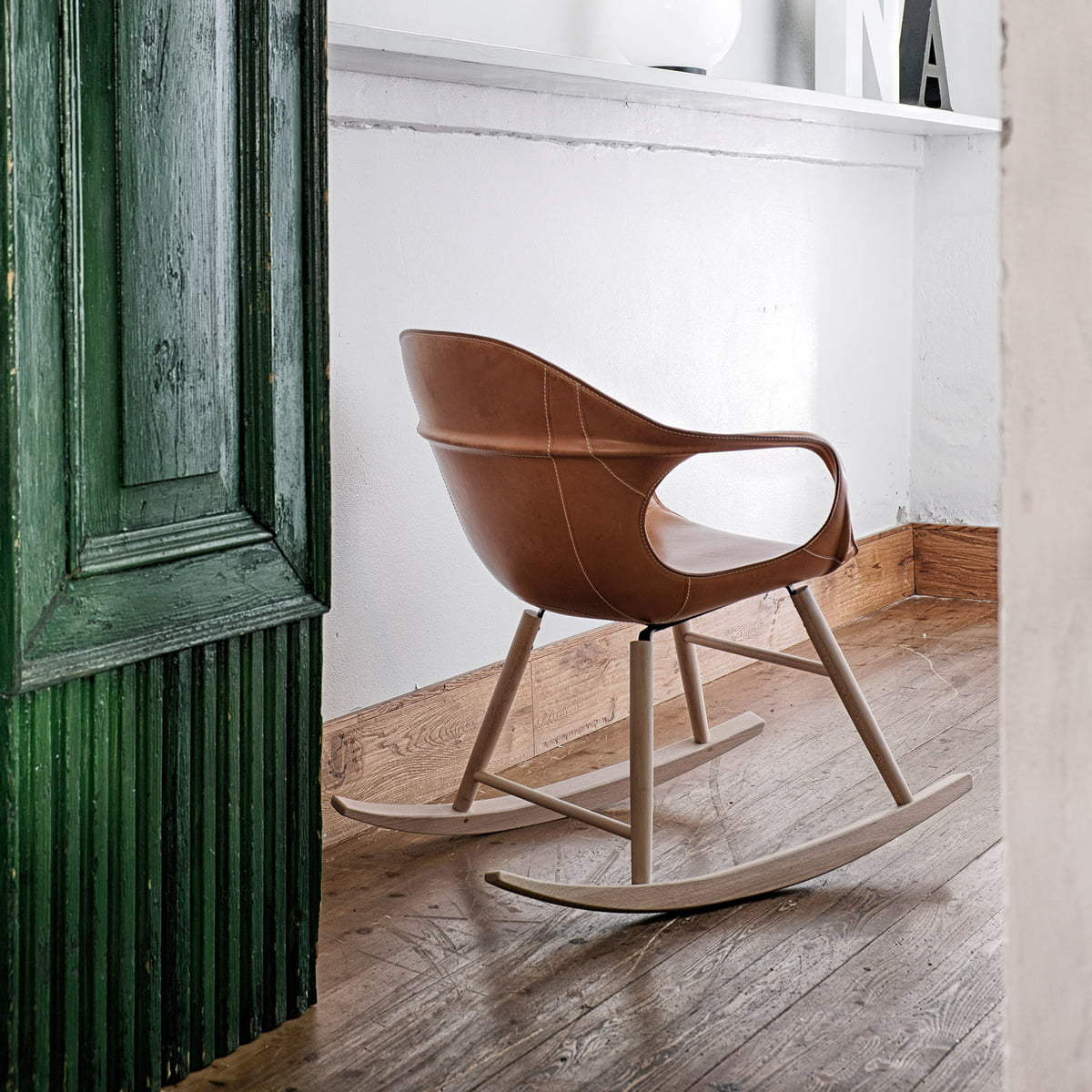 Elephant rocking chair by kristalia at the shop for Rocking chair schaukelstuhl