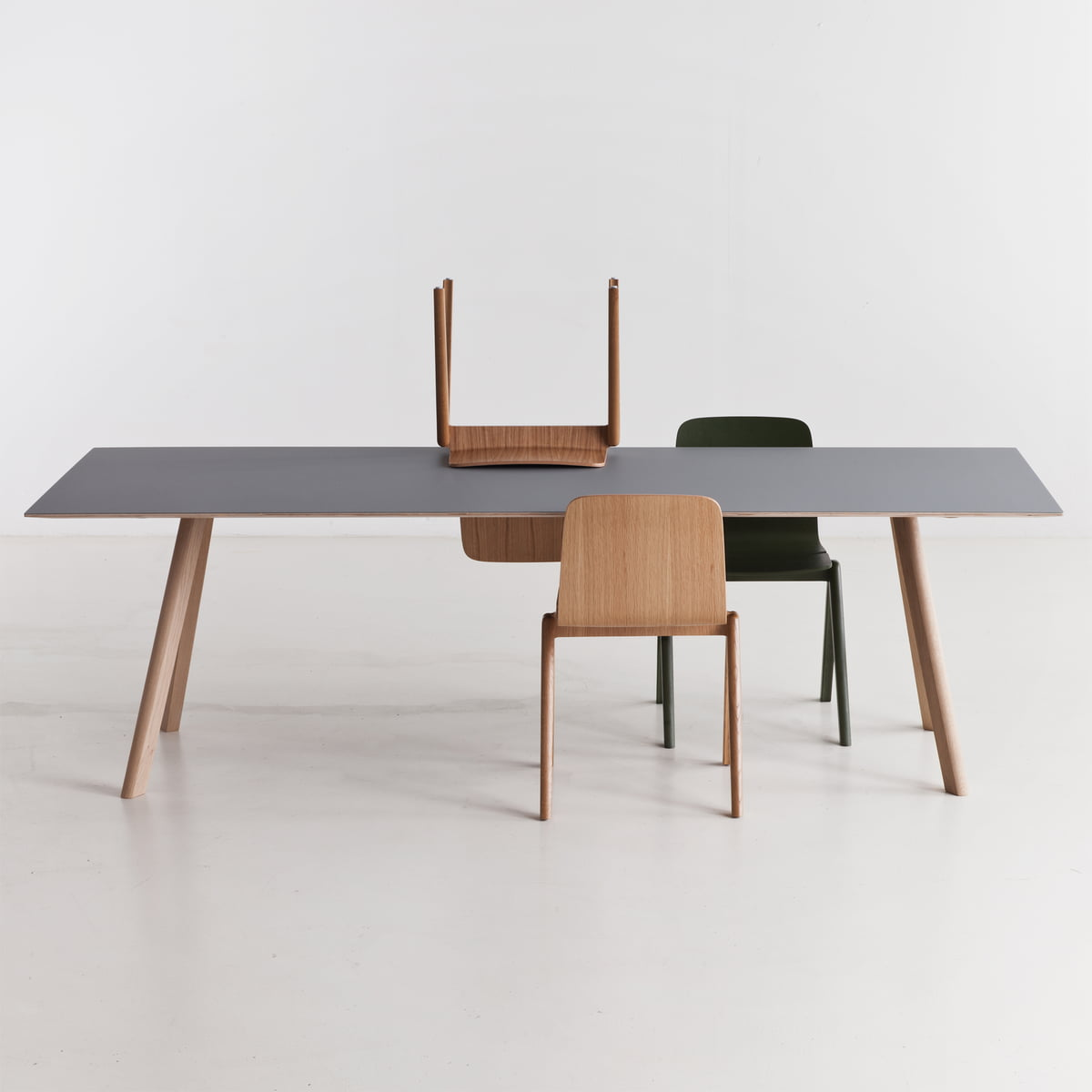 the copenhague cph30 dining table by hay. Black Bedroom Furniture Sets. Home Design Ideas