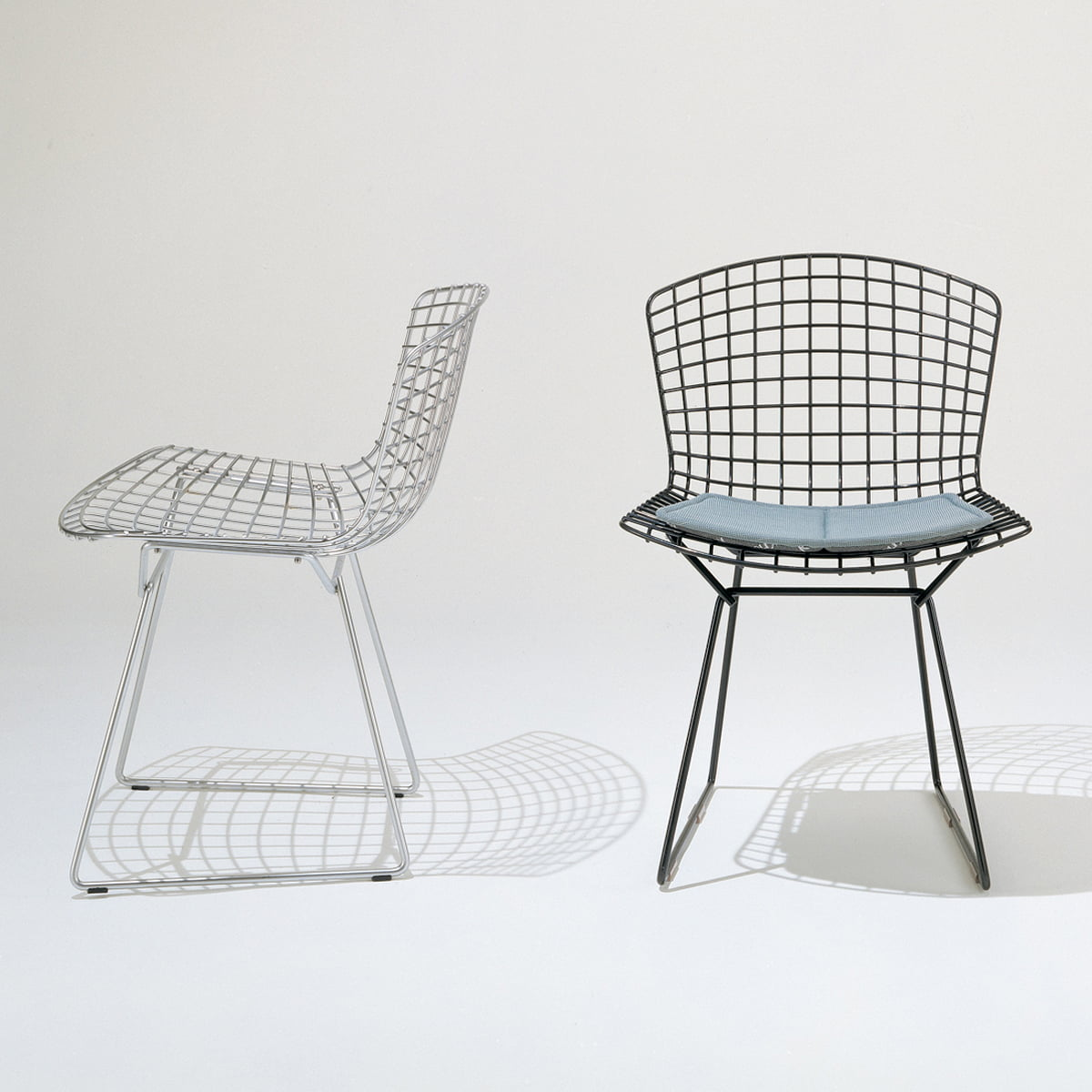Bertoia wire chair by knoll in the home design shop for Eames design stuhl