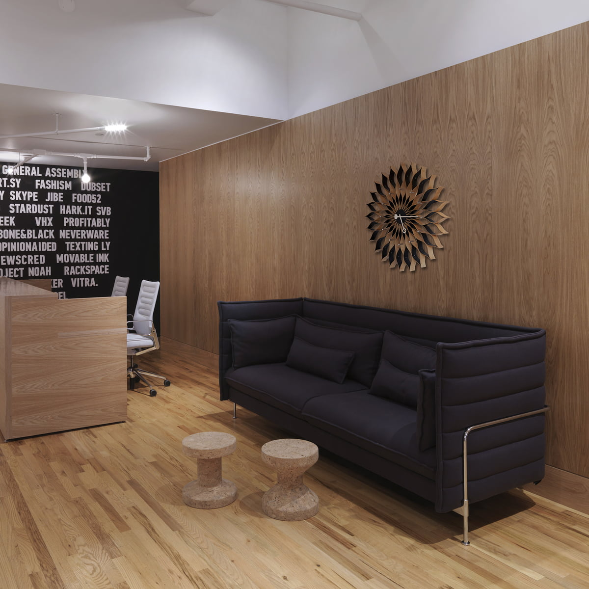 Vitra   Stool   Cork Family   Alcove Plume Sofa