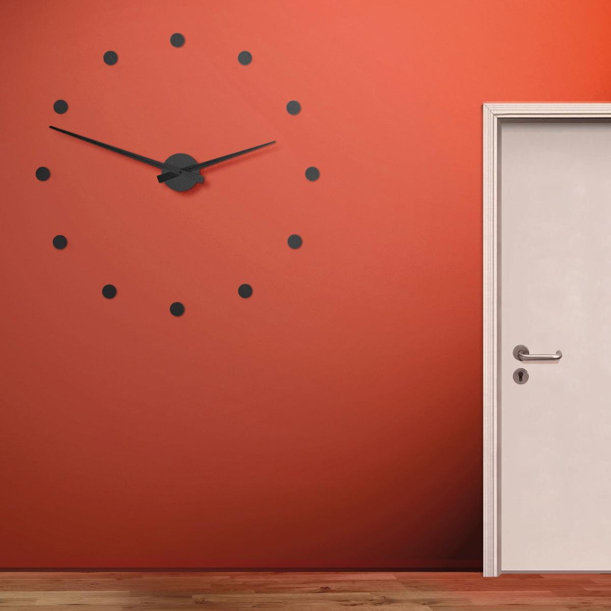 the flexible wall clock by radius design. Black Bedroom Furniture Sets. Home Design Ideas