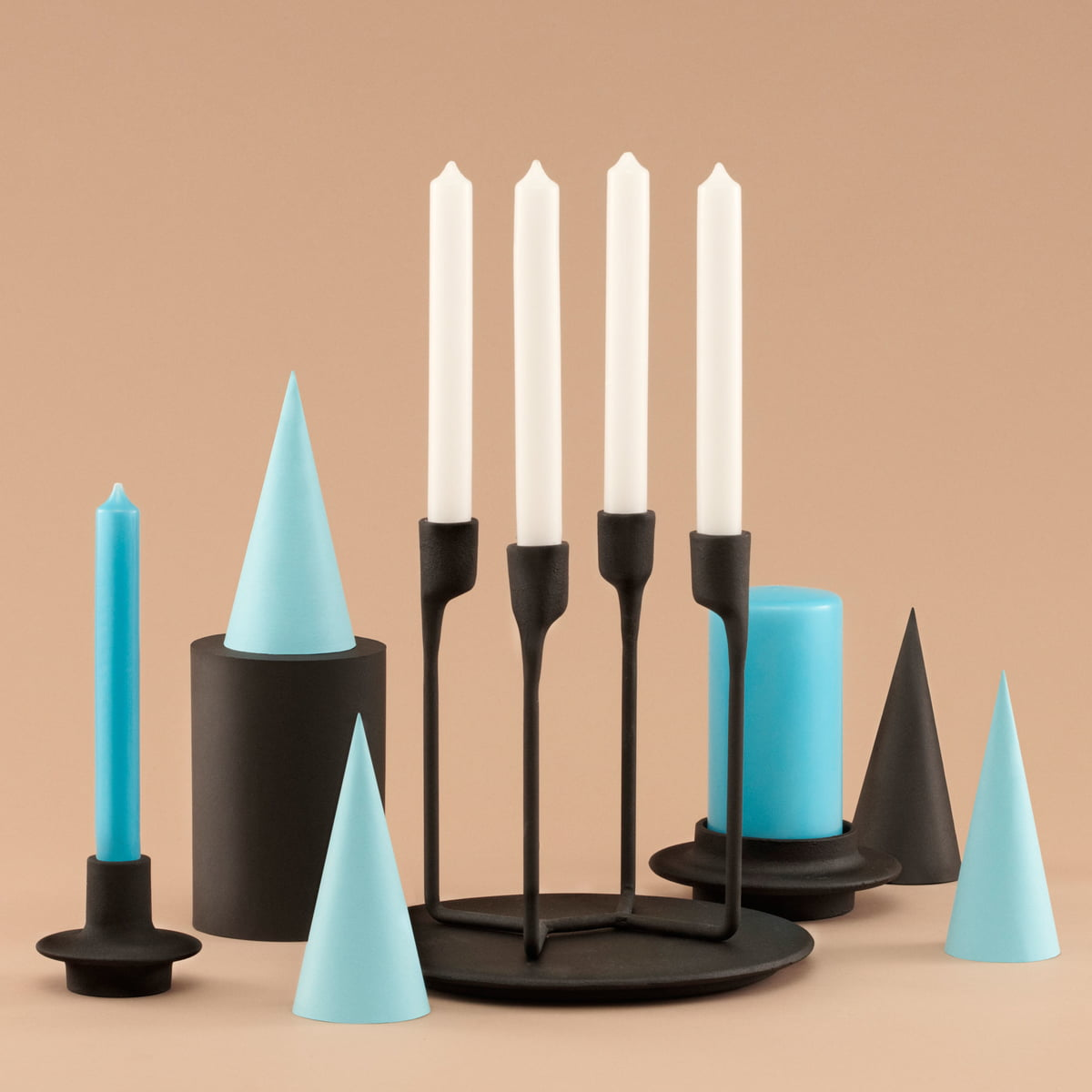 79a469862b Minimalist Nordic design - the Heima Collection · Sculptural Heima  collection. Normann Copenhagen - Heima Tealight Holder