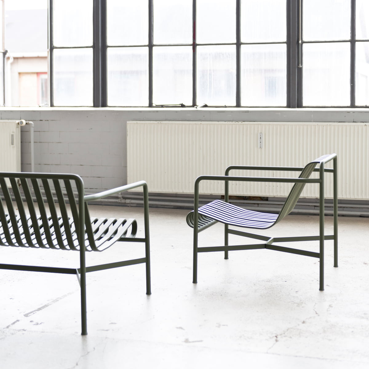 The Palissade Collection By Hay · The Palissade Lounge Chair Low ...