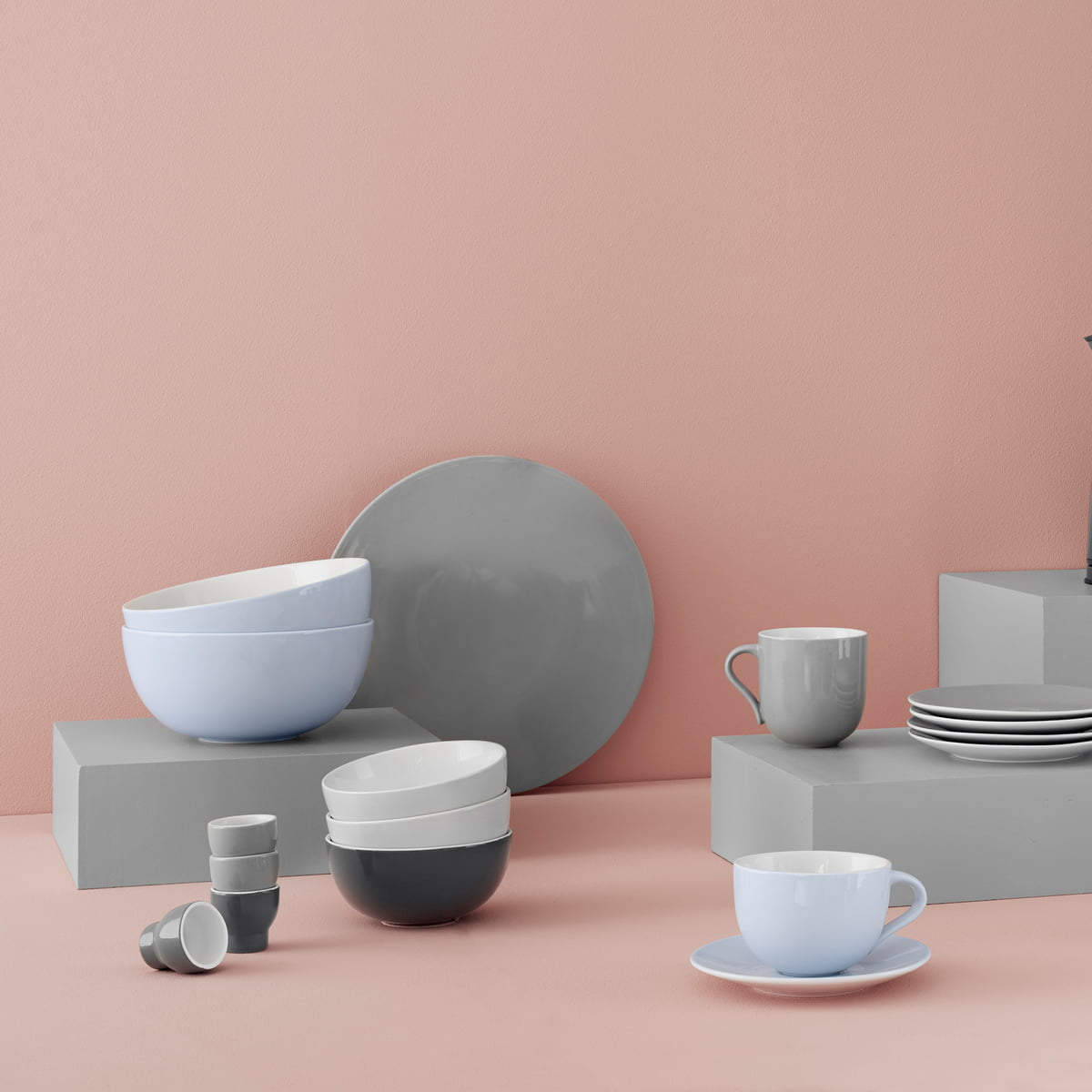 Stelton - Emma Collection & Emma plates (set of 2) by Stelton in the shop