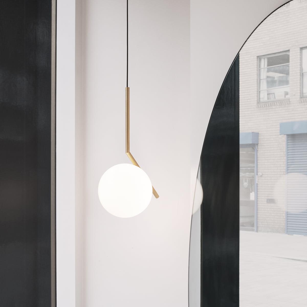 buy online 9872a c77ab Flos - IC S1 BRO Pendant Lamp, chrome