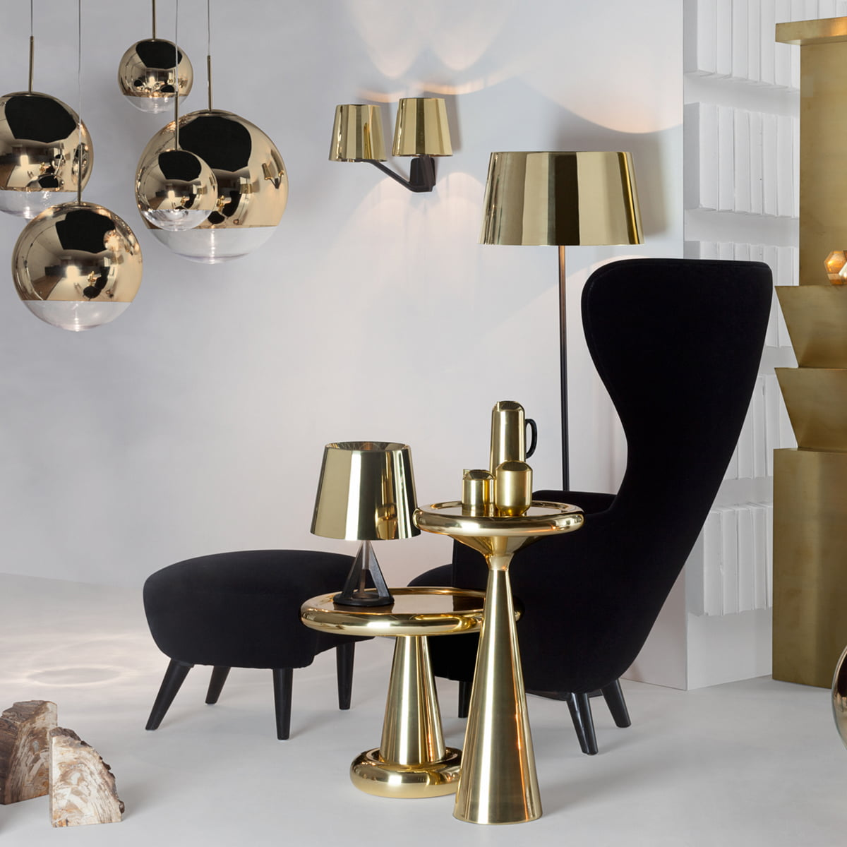 base wall light tom dixon shop. Black Bedroom Furniture Sets. Home Design Ideas