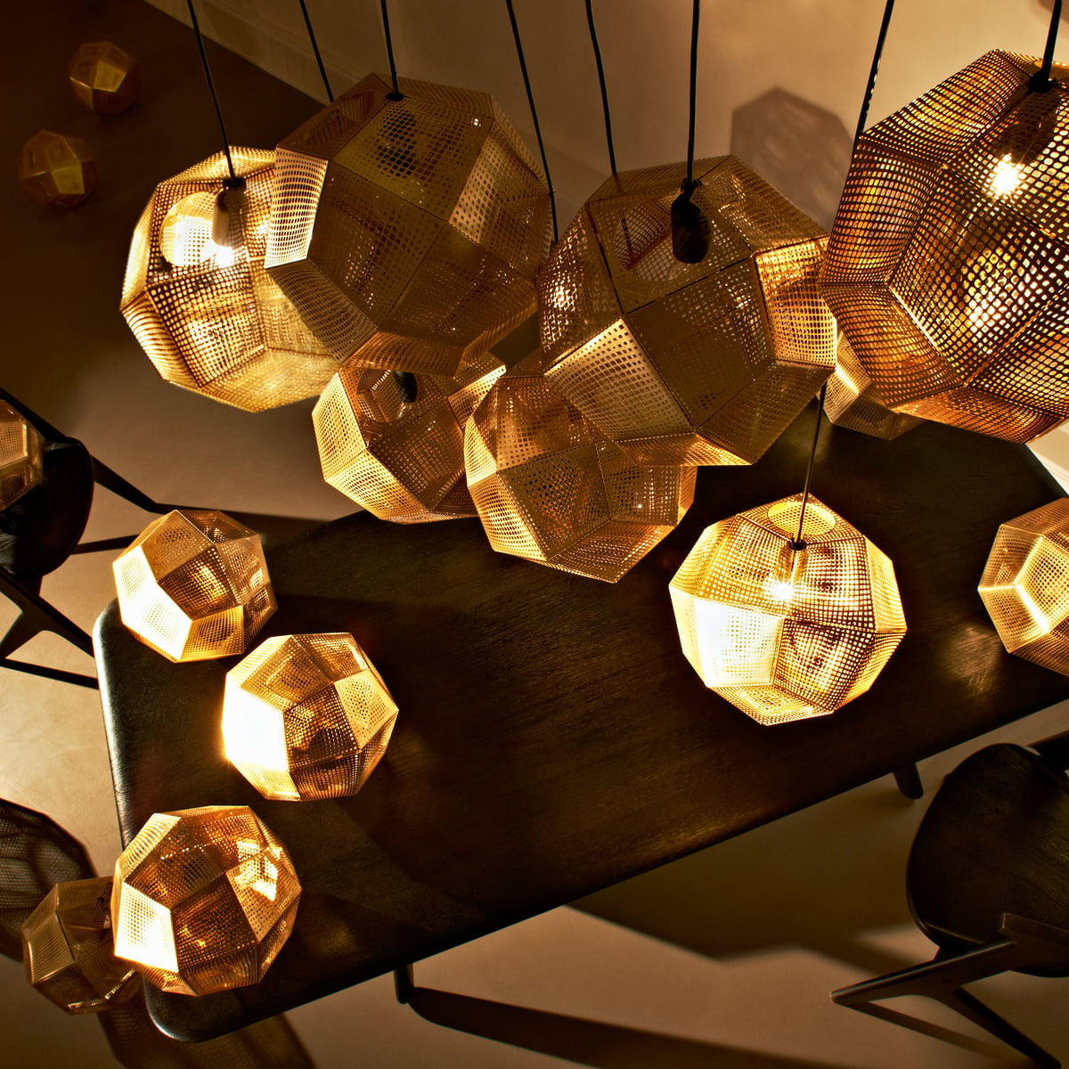 the etch pendant lamp by tom dixon in the shop. Black Bedroom Furniture Sets. Home Design Ideas