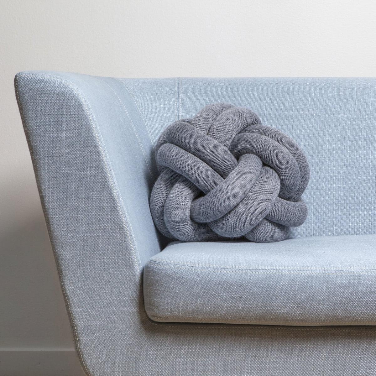knot cushion by design house stockholm. Black Bedroom Furniture Sets. Home Design Ideas