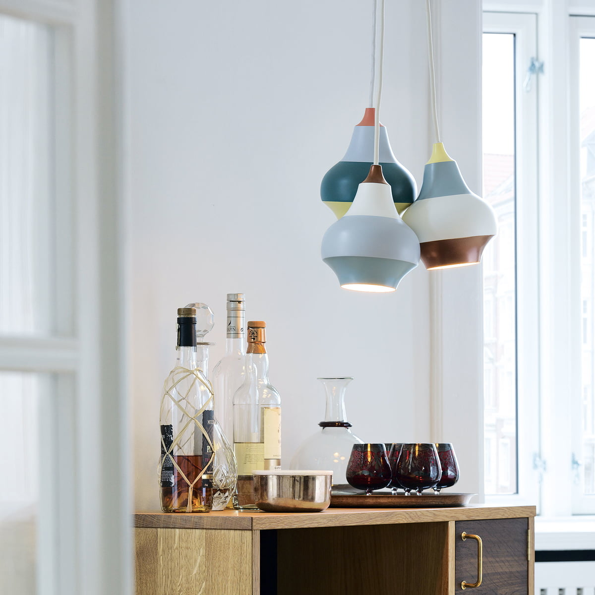 Good Mood And Happy Atmosphere · Louis Poulsen   Cirque Pendant Lamp