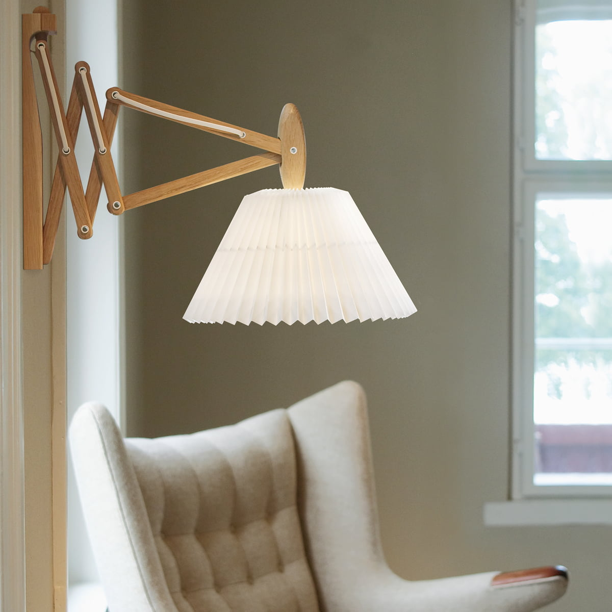 Buy the Sax Lamp 334 from Le Klint in the Connox Shop