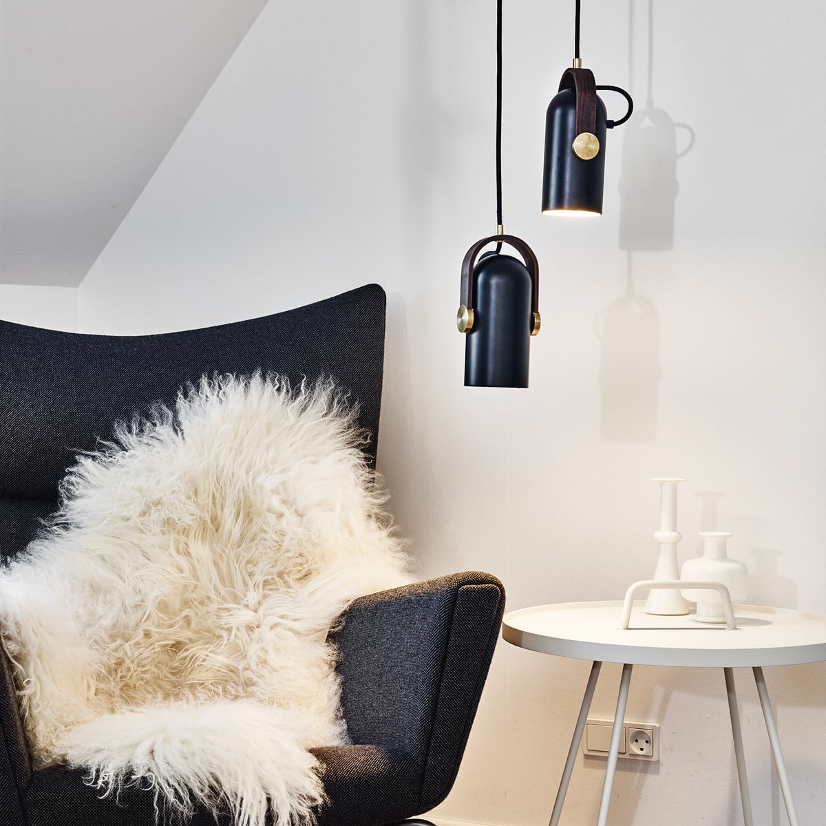 carronade pendant lamp by le klint in our shop. Black Bedroom Furniture Sets. Home Design Ideas