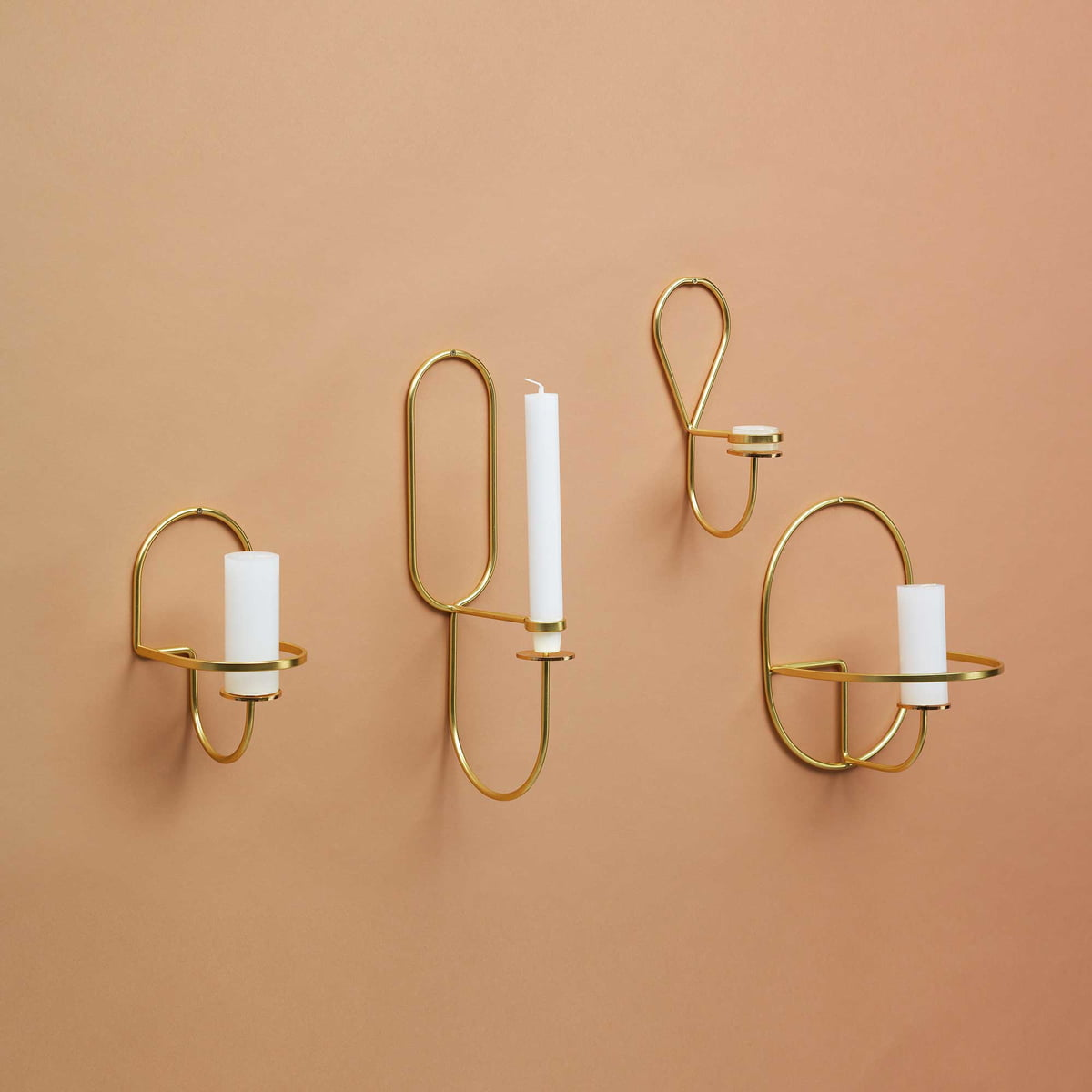 Lup wall tealight holder by Hay in the shop