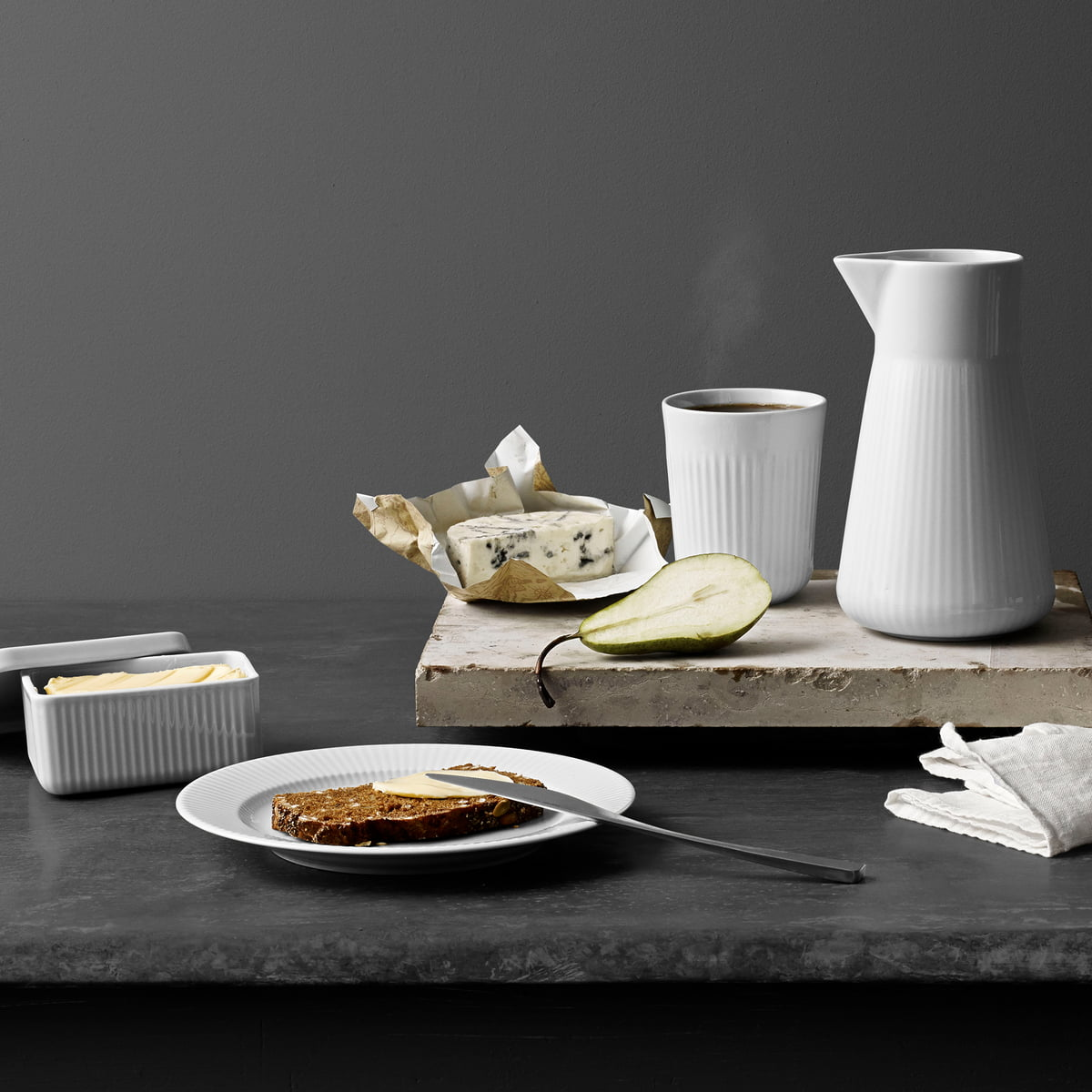 Legio Nova Tableware Series by Eva Trio & Buy the Legio Nova butter dish by Eva Trio