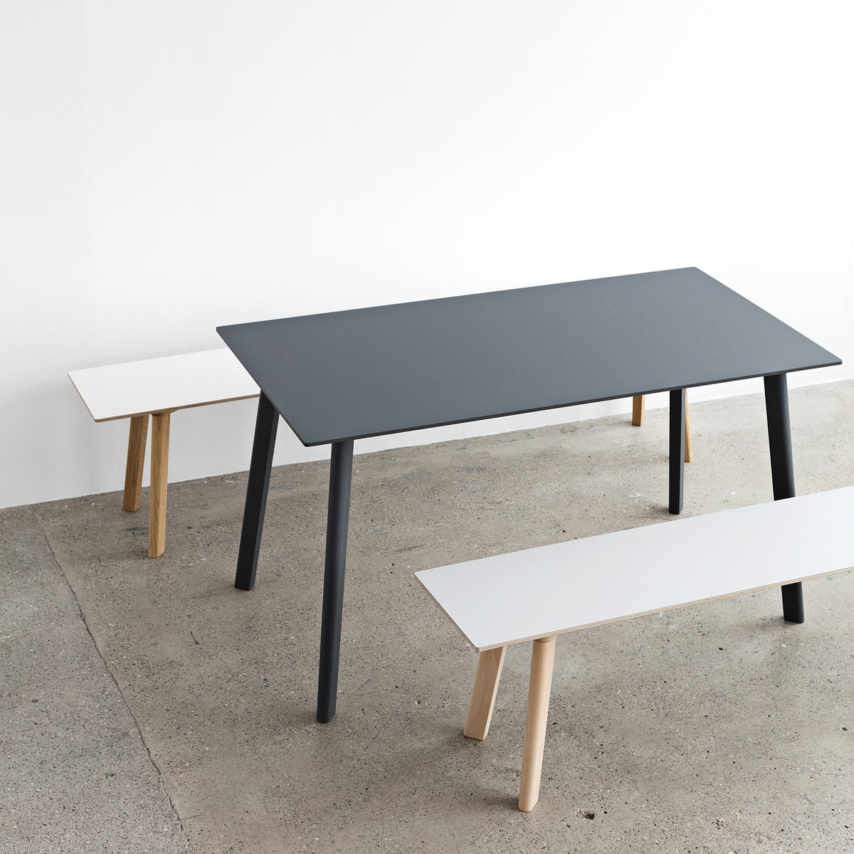 Hay Esstisch copenhague deux 210 table by hay in the shop