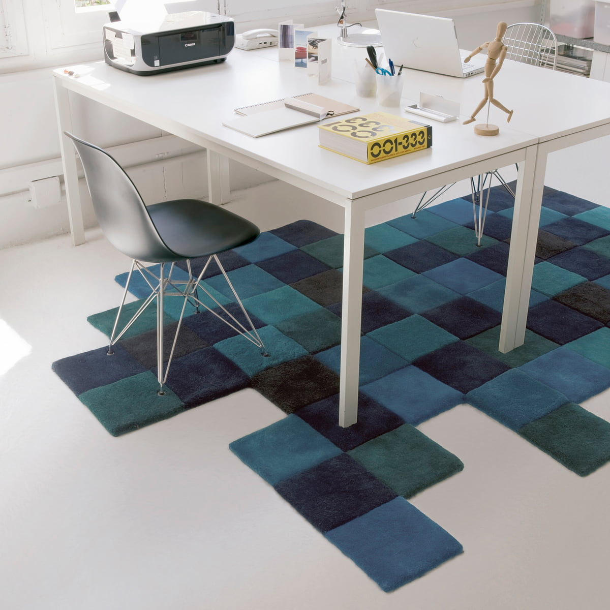 Do Lo Rez Rug By Nanimarquina In Blue