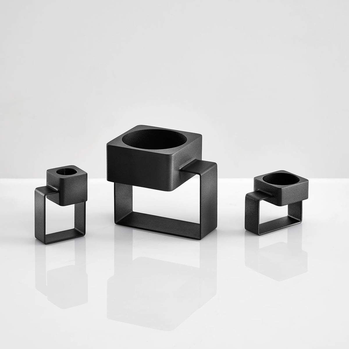 tip candle holder by woud in the shop. Black Bedroom Furniture Sets. Home Design Ideas