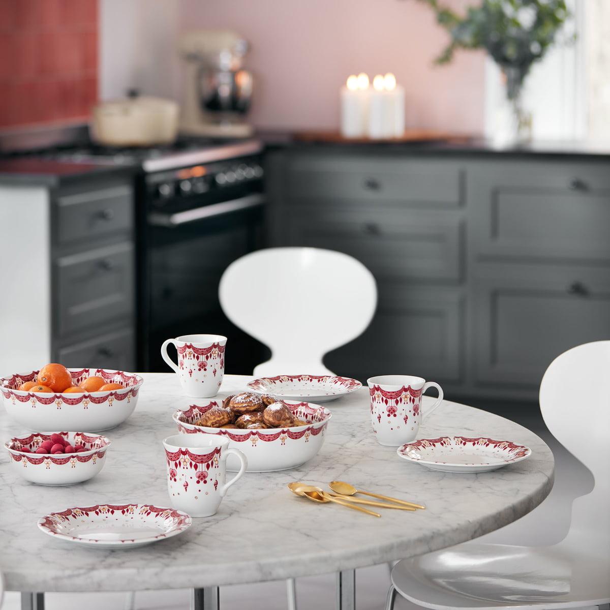 Christmas Tableware By Bjorn Wiinblad In The Shop
