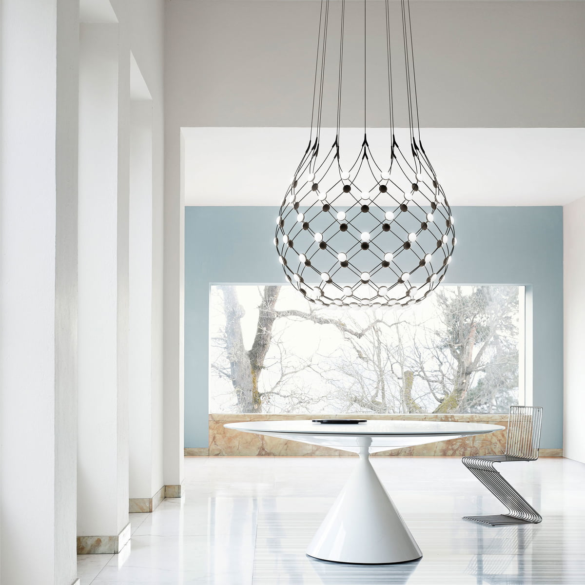 Mesh Pendant Lamp by Luceplan in the shop
