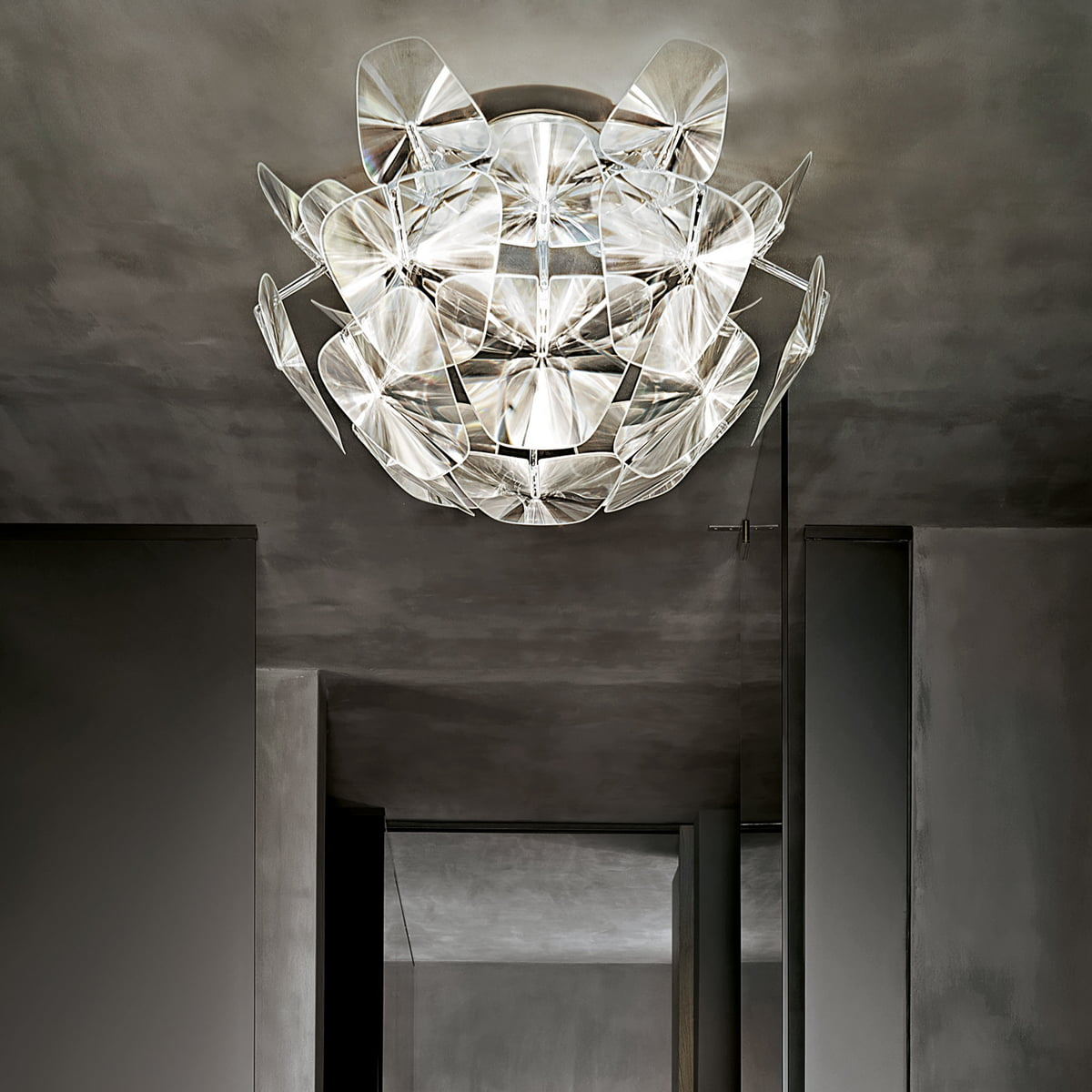 hope ceiling lamp by luceplan