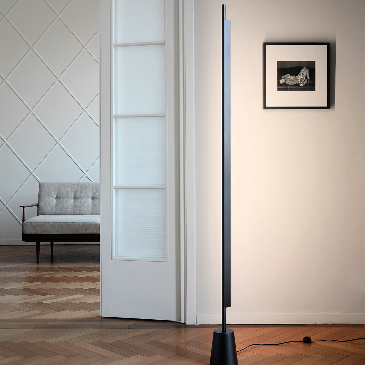 D81 Compendium LED Floor Lamp By Luceplan