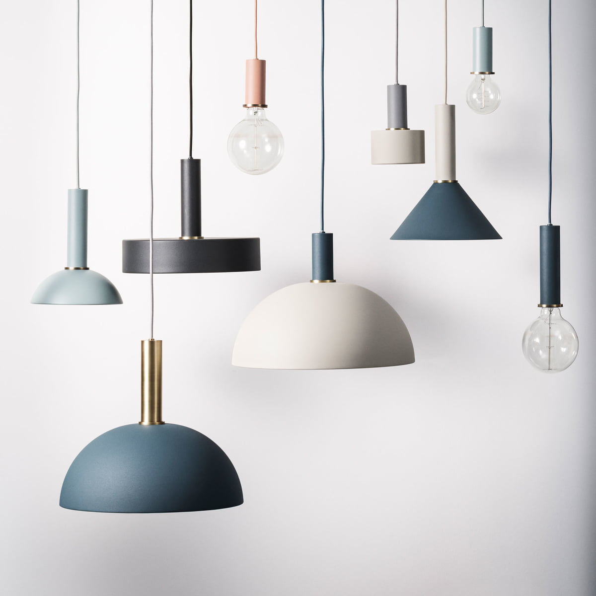 collect lighting pendant luminaires series. socket pendant lamp by ferm living online